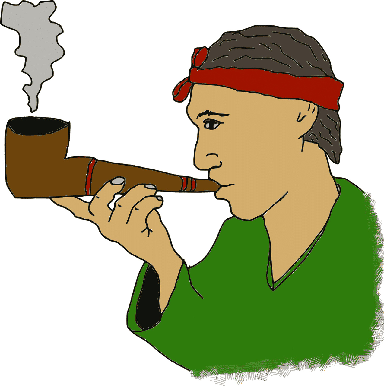 War and Peace and Smoking a Pipe